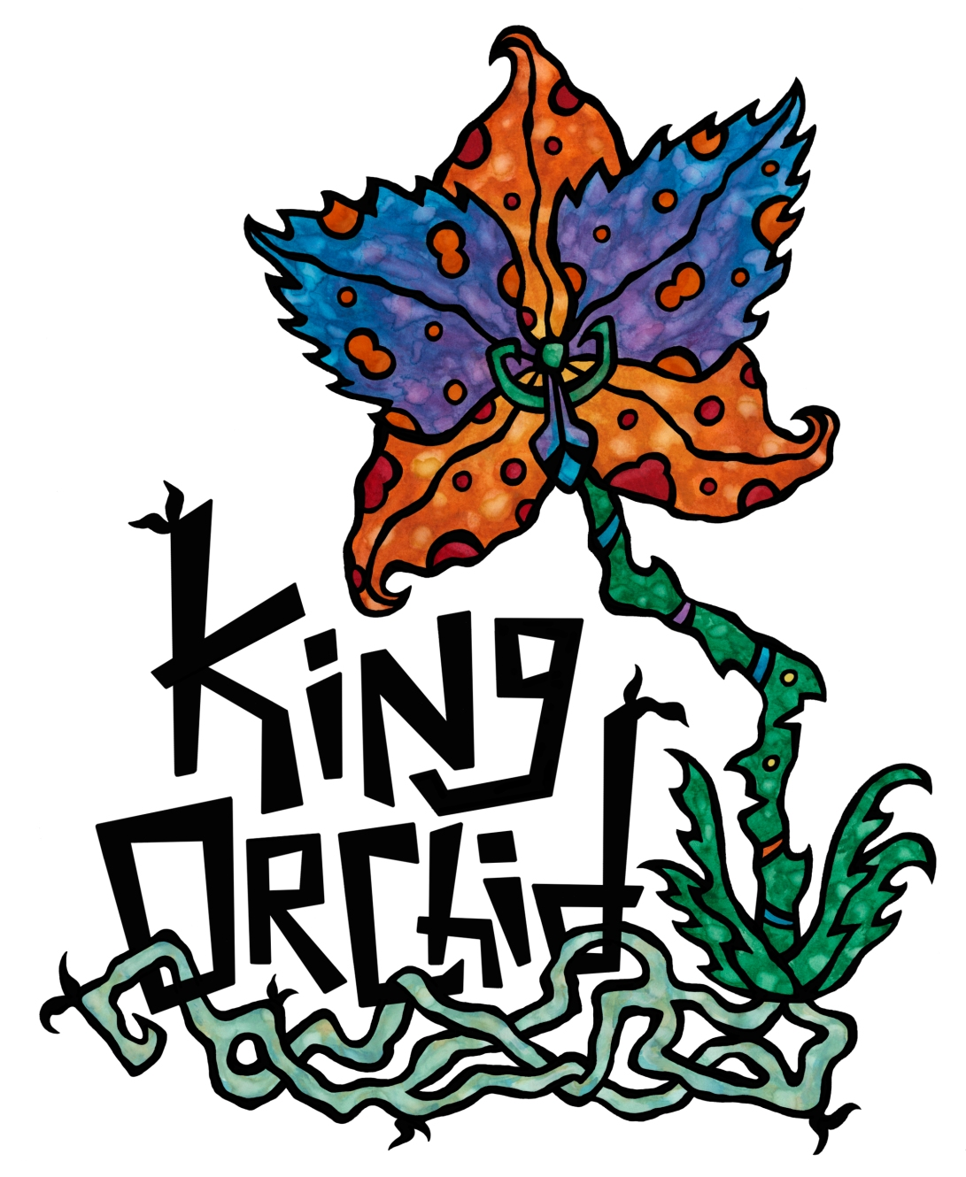 King Orchid - Logo