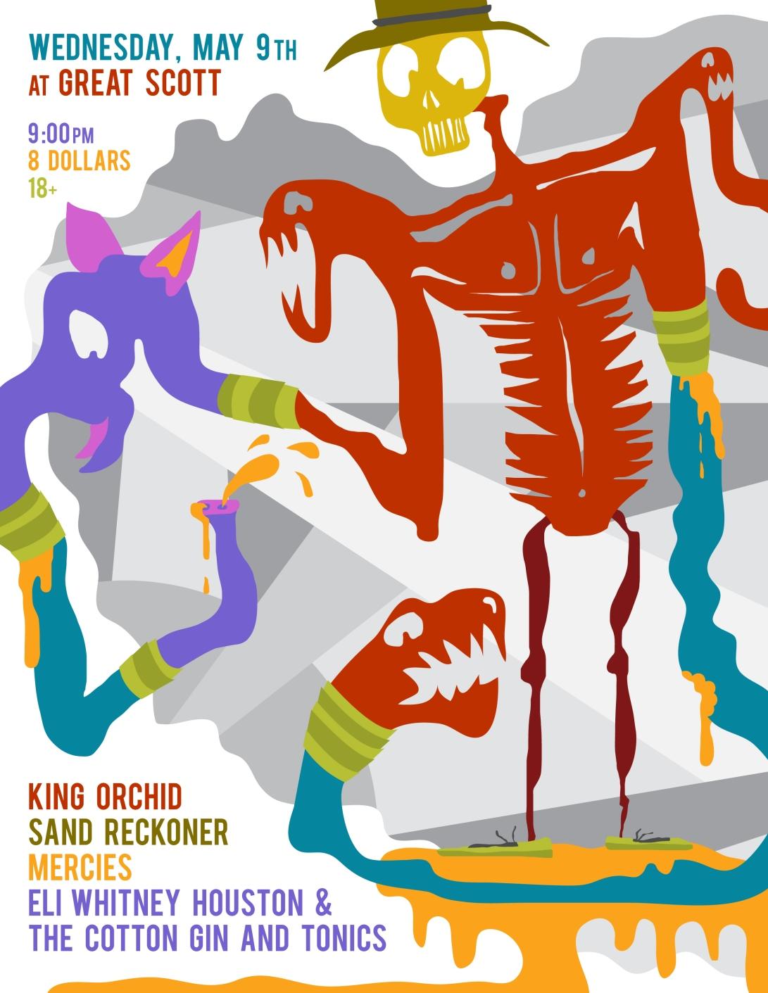 King Orchid - flier